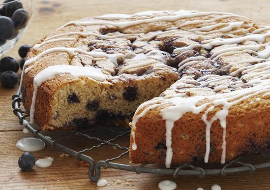 Duncan Hines Sour Cream Bluebery Coffee Cake Recipe