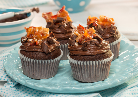 Duncan Hines Triple Chocolate Cake Mix Cupcakes
