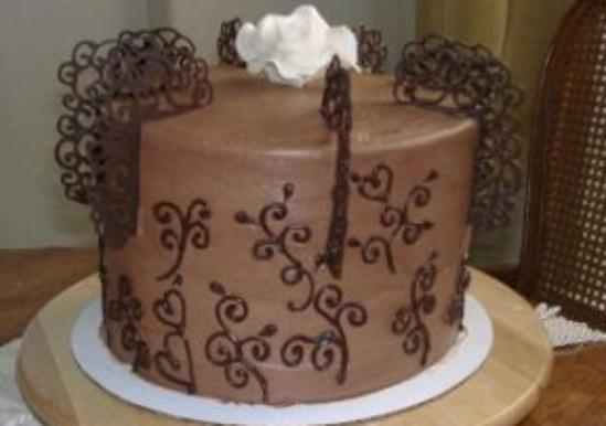 Checker Board Nutella And Raspberry Chocolate Birthday