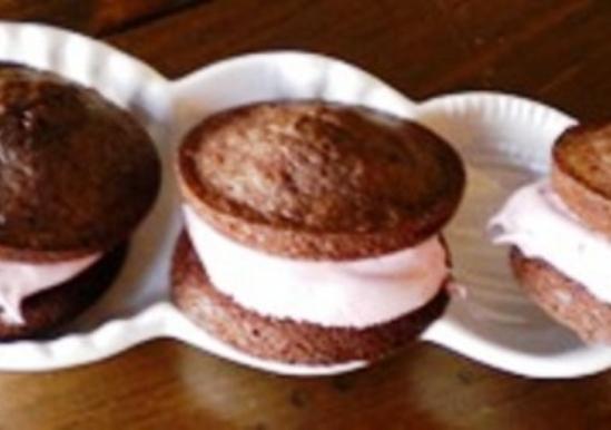 Cherrilicious Cherry Vanilla Brownie Whoopie Pies