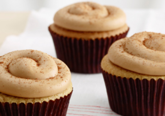 Cinnamon Apple Cupcakes