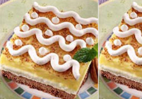 Creamy Eggnog Dessert