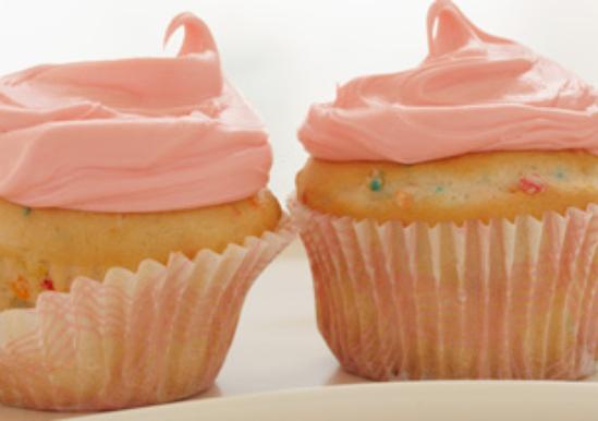 Cute Confetti Cupcakes