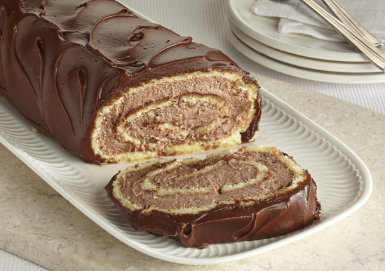 Chocolate Peanut Butter Jelly Roll