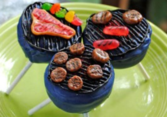 Grill Cake Pops