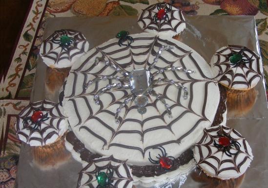 Halloween Spiderweb Cake Duncan Hines 174