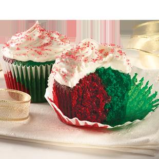 Duncan Hines Red And Green Velvet Bundt Cake