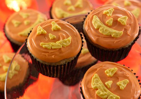 Jack O' Lantern Cupcakes