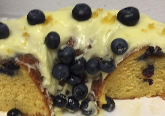 Lemon Vanilla Blueberry Cake Duncan Hines 174