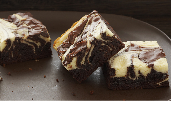 Chocolate Cheesecake Marbled Brownies
