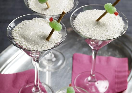Happy Hour Martini Cupcakes