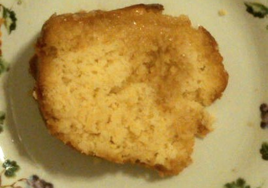 Pineapple Upside Up Pound Cake