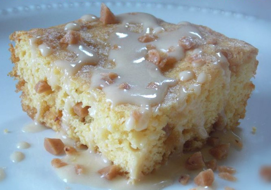 How To Make A Yellow Cake Mix Into Blondies