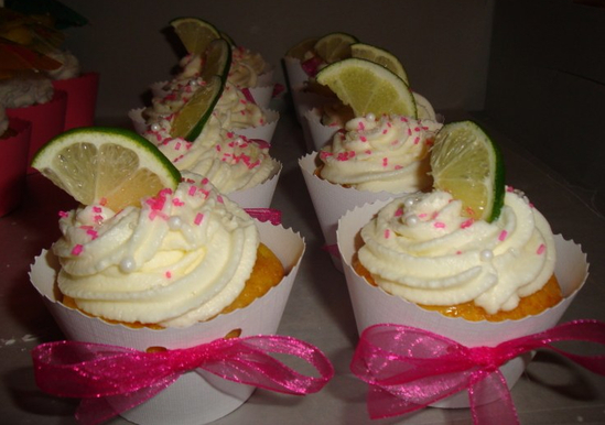 Top Shelf Margarita Cupcakes