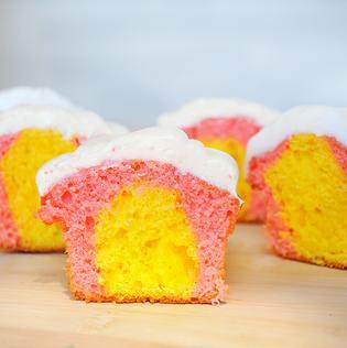 Hidden Egg Cupcakes