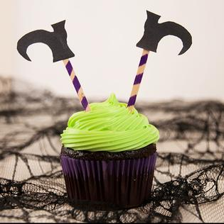 Witch's Feet Cupcakes