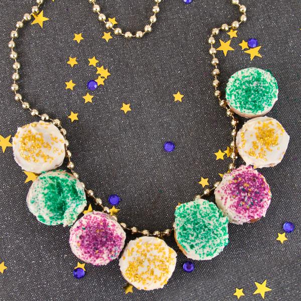 """Mardi Gras """"Beads"""""""