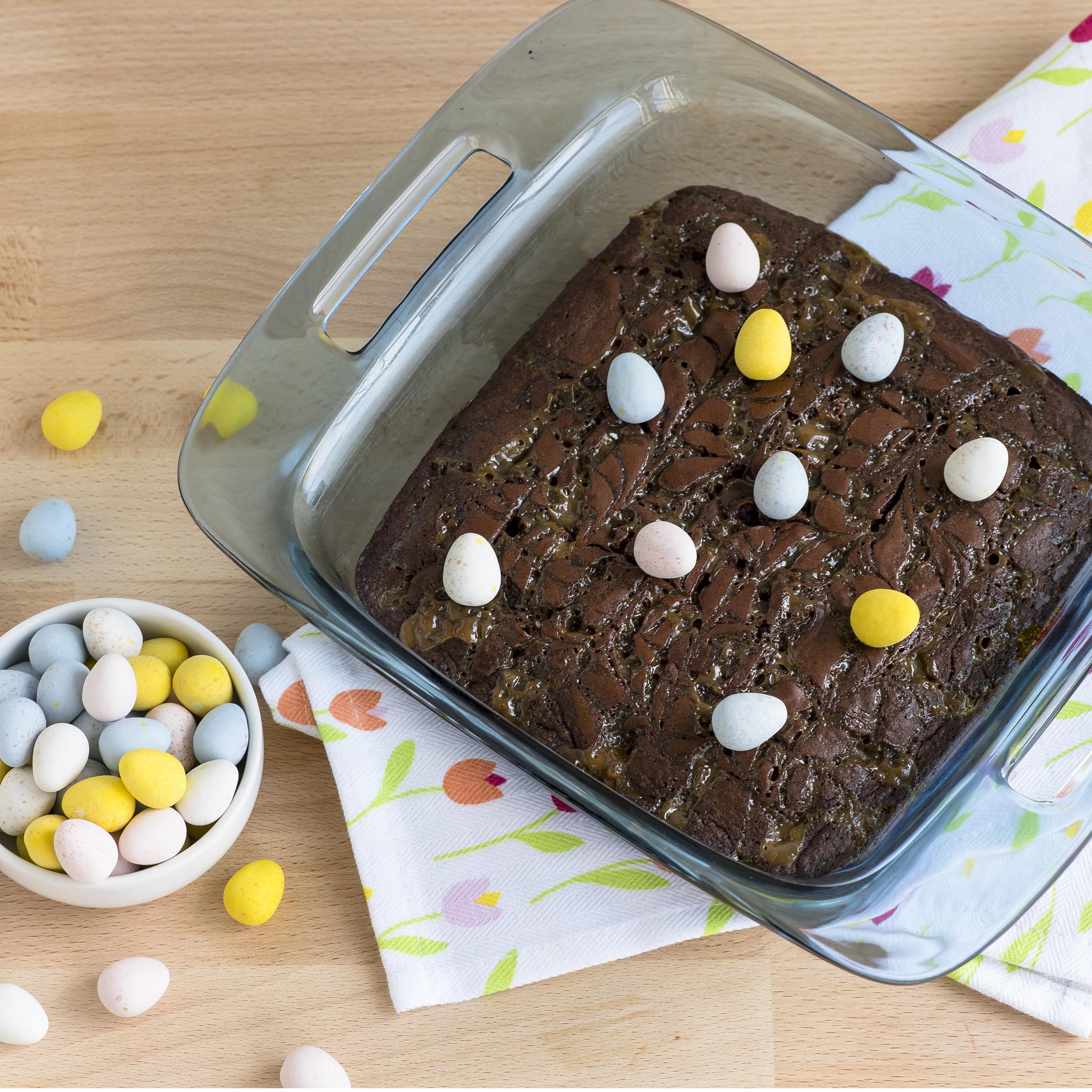 Easter Egg Brownies