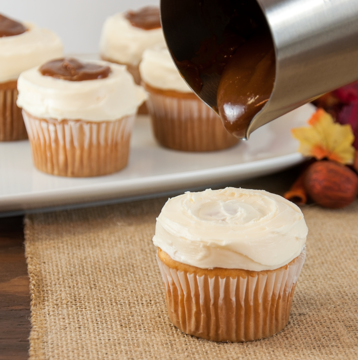 """Mashed Potatoes and Gravy"" Cupcakes"