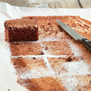 Brownie baking tip