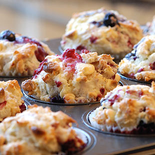 Changes to Blueberry Streusel muffins
