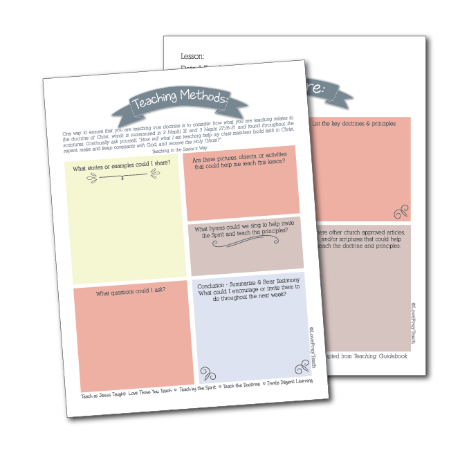 Free Teacher Prep Worksheet