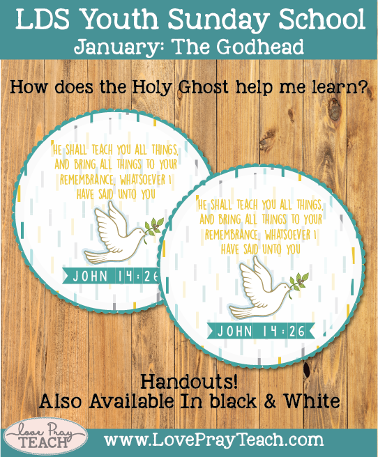 January Youth Sunday School: How does the Holy Ghost help me learn?