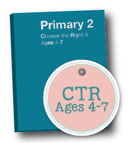 2018 Primary 2 CTR lesson packets by www.LovePrayTeach.com