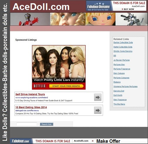 acedoll.com for sale