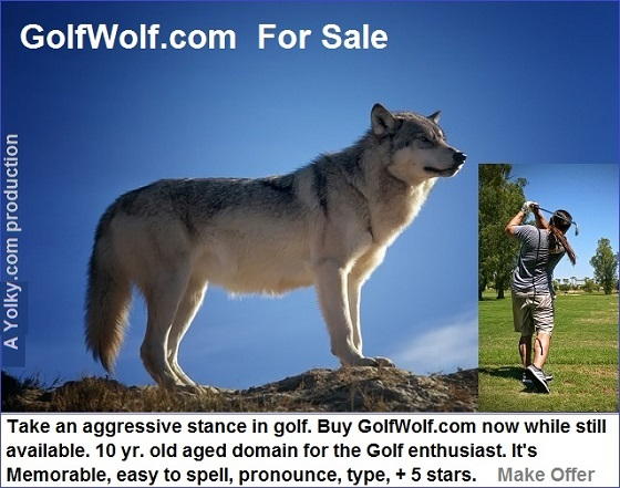golfwolf.com for sale