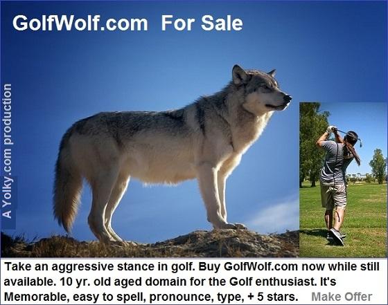golfwolf.com for sale