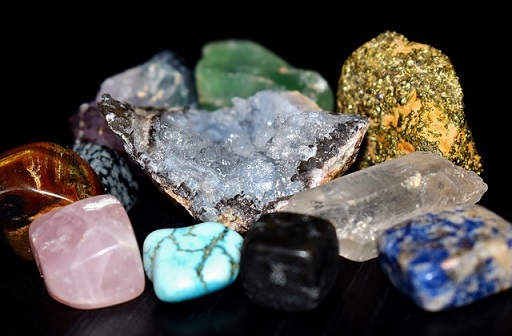 some semi-precious gemstones