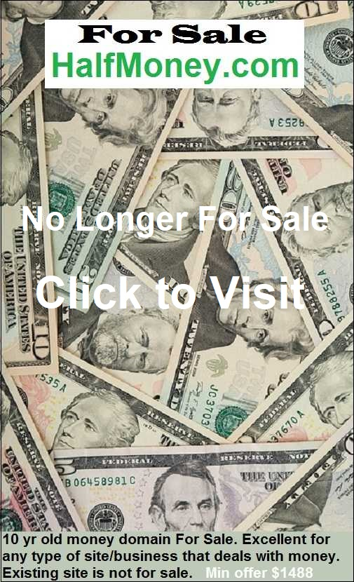 halfmoney.com for sale