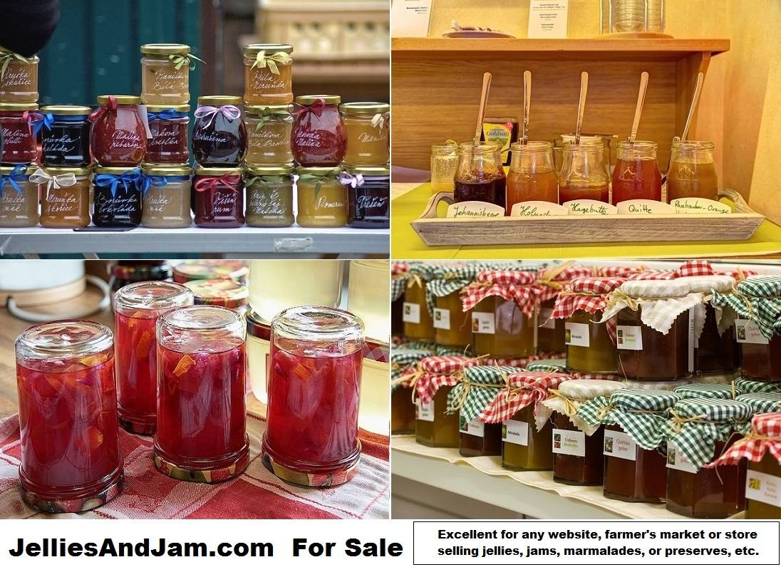 jellies and jam.com is for sale