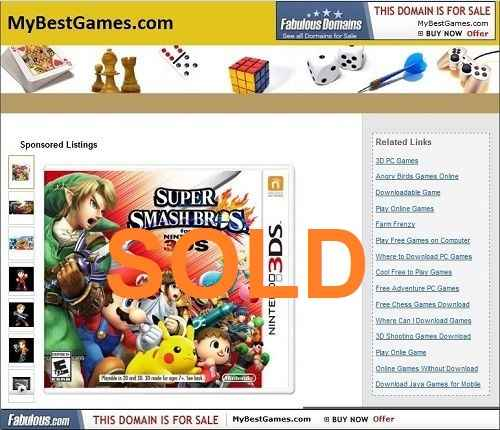 mybestgames.com for sale