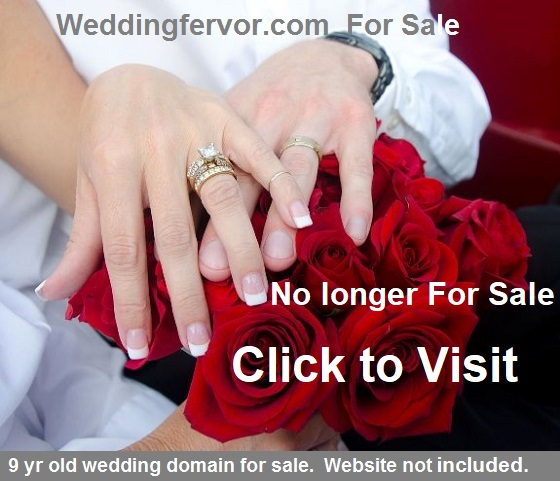 wedingfervor.com for sale
