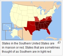 southern US states