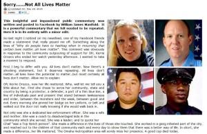 Only Blue Lives Matter