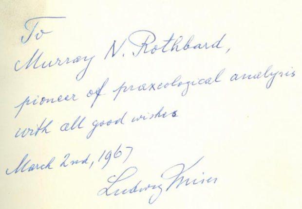 Murray Rothbard: 'Pioneer of Praxeological Analysis' - The Reports