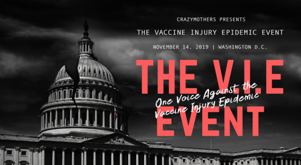 Thousands Gather To Mark the 33rd Anniversary of the National Childhood Vaccine Injury Act Government's Gift to Big Pharma