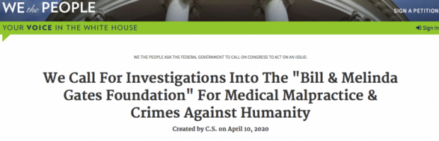 Bill Gates and the Depopulation Agenda. Robert F. Kennedy Junior Calls for an Investigation Screen-Shot-2020-04-18-at-09.43.13-768x247-620x199