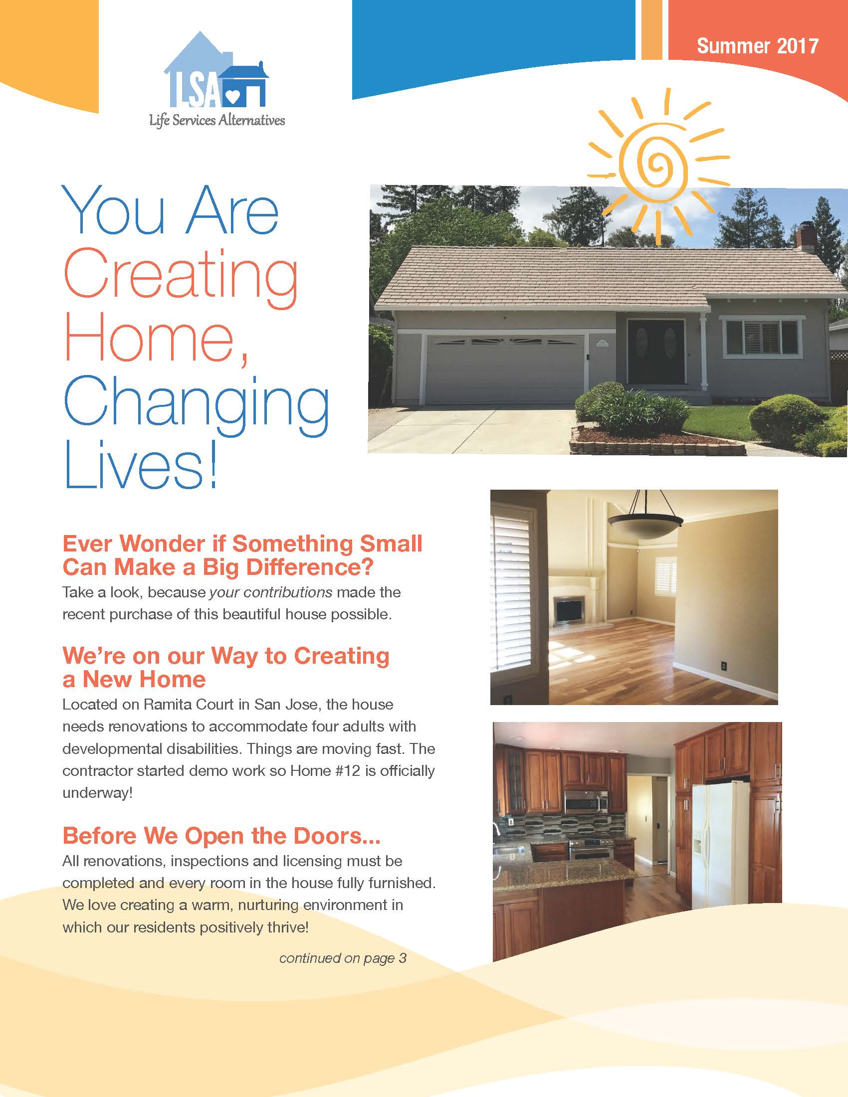 Life Services Alternatives   Summer 2017 Print Newsletter