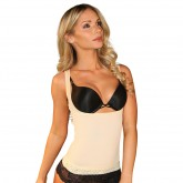 Nisgue Woman Shirt Tummy Shaper Beige Front