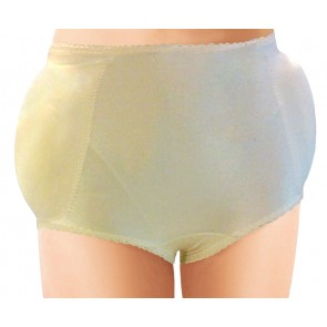Rago Hip and Rear Padded Panty Girdle Beige