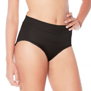 Rhonda Shear Booty Galore High Waist Padded Brief Black Front