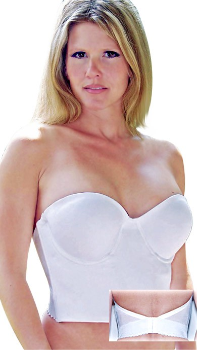 Valmont Longline Strapless Molded Cup Bra Style 819