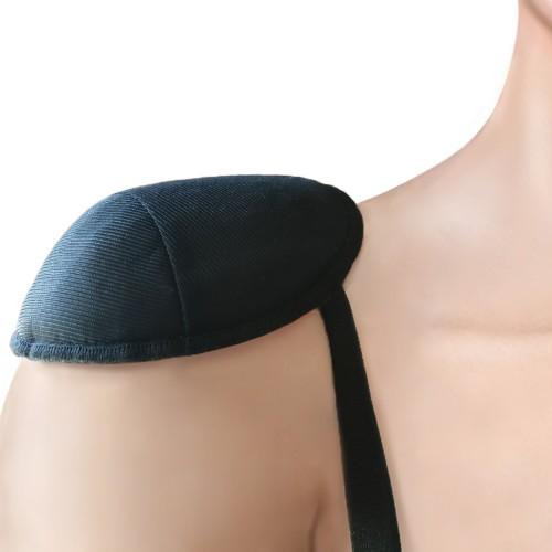 Ann West Pretty Petite Basic Raglan Women's Shoulder Pads Black Front