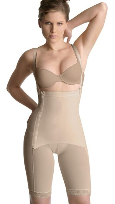 Cocoon Powernet High Waist Long Leg Panty Girdle Style 2101