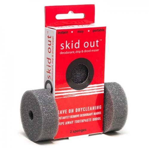 Garment Guard Skid Out Deodorant & Oops Remover Sponge Package