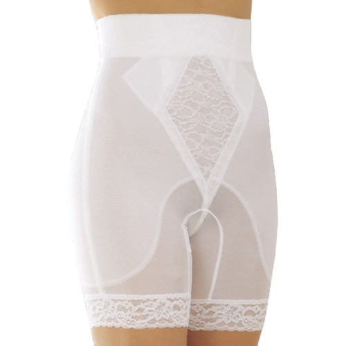 Rago Silky Smooth Mid-High Waist Long Leg Pantie Girdle
